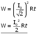 AC power equation