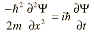 schroedinger wave equation