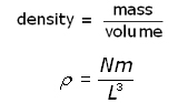 kinetic theory - gas density