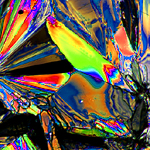 polarized light through crystals